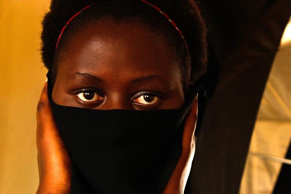 self-portrait by Odila Umuziranenge
