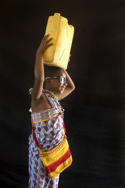 Portrait by Justine Mukundiyukuri